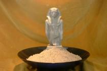 Stuck-Dekor-Ägyptische Statue