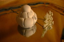 Stuck-Dekor-Ornamentknopf