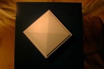 Stuck-Dekor-Platte Pyramide